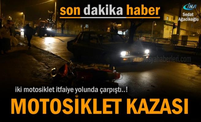 Tosya'da Motosiklet Kazasında 2 kişi yaralandı