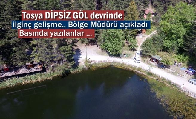 Bölge Müdürü Dipsizgöl Devri Konusunda Açıklamada Bulundu