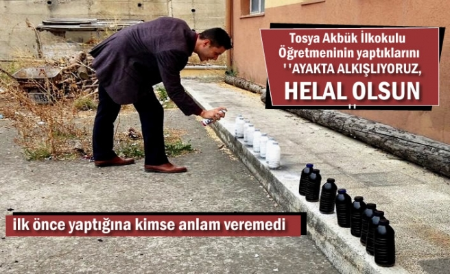 Tosya'da Bir Köy Öğretmeni yaptığı iki farklı proje ile Öğrencilerini zirveye çıkardı