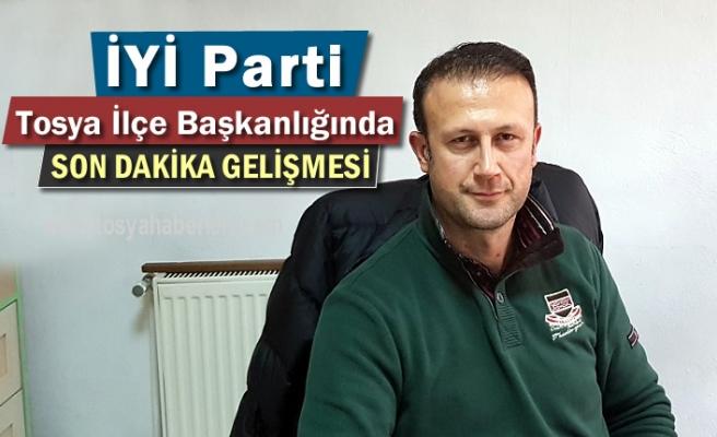İYİ Parti Tosya İlçe Başkanlığında Önemli Gelişme