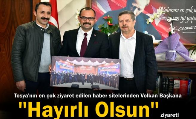 Belediye Başkanı Volkan Kavaklıgil'e Hayırlı Olsun Ziyareti
