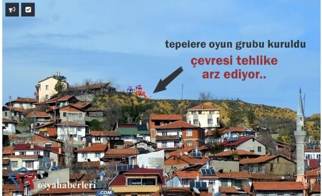 Tosya'nın Tepesine Oyun Parkı Kurdular