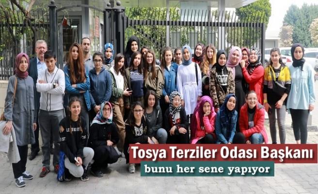 Atabinen Kız Meslek Lisesi ve Terziler Odası Başkanlığı Bursa Gezisi Etkinliği