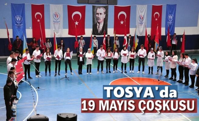 Tosya'da 19 Mayıs Atatürk'ü Anma ve Gençlik Spor Bayramı Çoşku İçinde Kutlandı