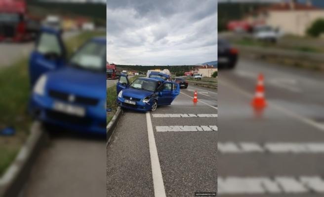 Tosya-Ortalıca Kavşağı Trafik Kazası