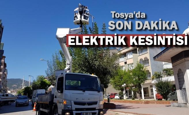 TOSYA'DA ELEKTRİK KESİNTİSİ -SON DAKİKA -