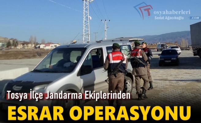 Tosya'da Esrar Yakalandı