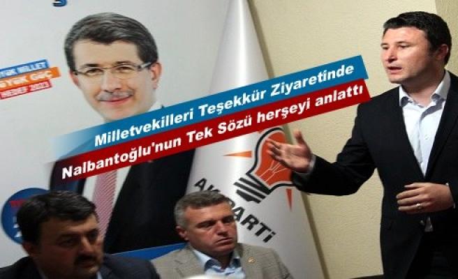 AK PARTİ KASTAMONU MİLLETVEKİLLERİ TOSYA'YA TEŞEKKÜR ZİYARETİNE GELDİ