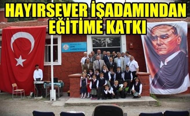 Çepni İlköğretim Okul'unun Açılışı Yapıldı