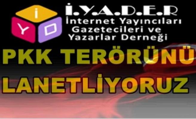 İnternet Yayıncıları,Gazetecileri ve Yazarları Derneği Çukurça  saldırısını kınama mesajı yayınladı.