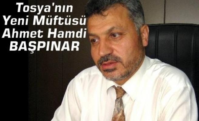 İşte Tosya'nın Yeni Müftüsü Ahmet Hamdi Başpınar
