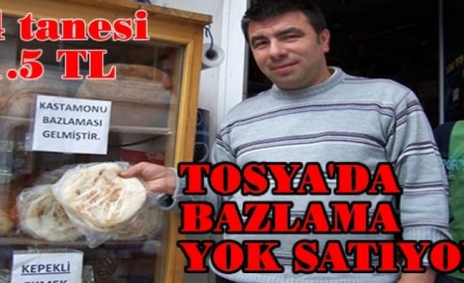Kastamonu Bazlaması Tosya'da Yok Satıyor