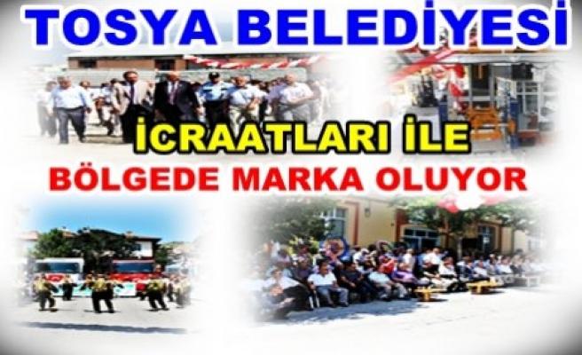TOSYA BELEDİYESİ MARKA OLMA YOLUNDA