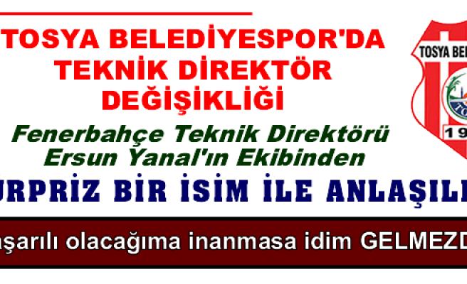 TOSYA BELEDİYESPOR'DA TEKNİK DİREKTÖR DEĞİŞİKLİĞİ