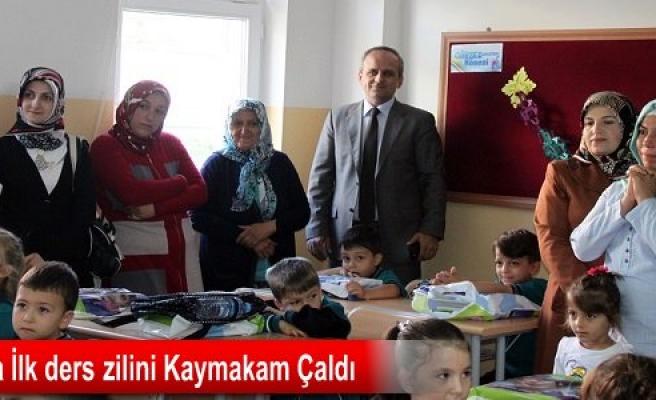 Tosya'da İlk Ders Zili Çaldı