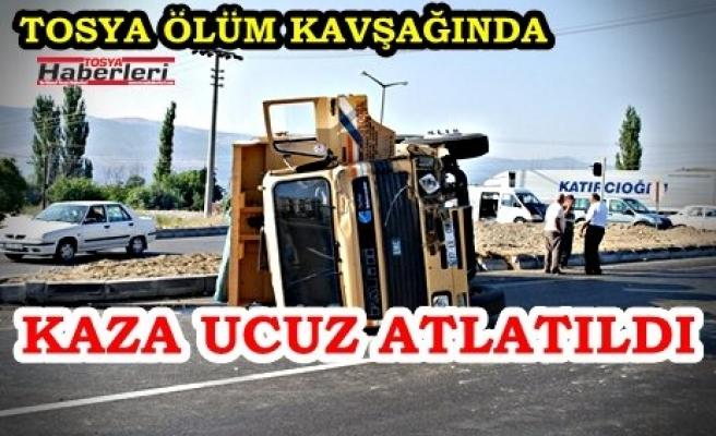 TOSYA DÖRTYOL DA TRAFİK KAZASI