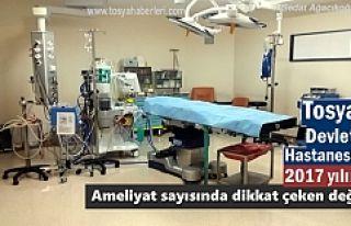 2017 YILINDA TOSYA DEVLET HASTANESİNDE KAÇ AMELİYAT...