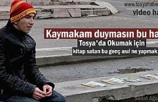 TOSYA'DA BİR ÖĞRENCİ EĞİTİMİNE DEVAM...