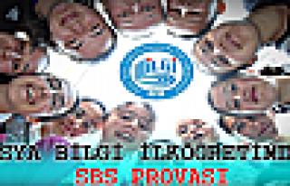 TOSYA BİLGİ İLKÖĞRETİM DERSHANESİNDEN SBS PROVASI