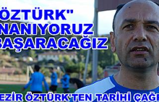 Tosya Belediyespor Antrenörü Nezir Öztürk'ten...