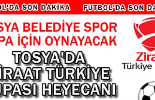 TOSYA BELEDİYESPOR TÜRKİYE ZİRAAT KUPASINDA