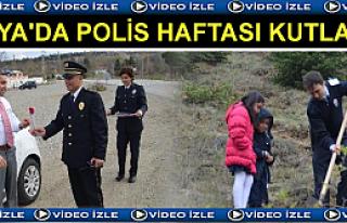Tosya'da Polis Haftası Kutlamaları ( VİDEO HABER...