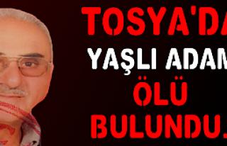 TOSYA'DA YAŞLI ADAM EVİNDE ÖLÜ BULUNDU