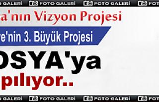 TÜRKİYE'NİN 3.BÜYÜK KAVŞAK PROJESİ TOSYA'YA...
