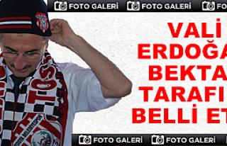Vali Bektaş Tosya Belediyespor'u Ziyaret Etti