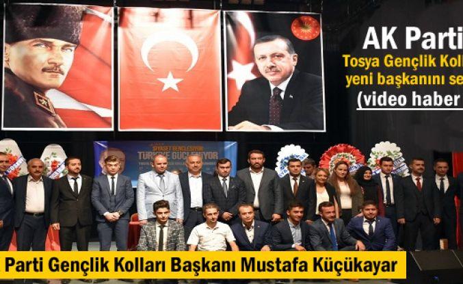 AK Parti Tosya Gençlik Kolları 5.Olağan Kongresi Yapıldı