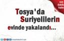 Tosya'da Suriyelilerin ikamet ettiği ev ve işyerinde...