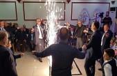 Garnizon Komutanı Özgün Yapağı'nın Düğününe Tosya Çiftetelli Oyunu damga vurdu