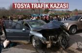 TOSYA-ÇANKIRI KAVŞAĞI TRAFİK KAZASI 1 ÖLÜ 1 AĞIR YARALI