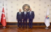 Tosya Ticaret ve Sanayi Odası Rifat Hisarcıklıoğlu'nu Ziyaret etti