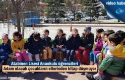 Tosya Atabinen Lisesi Anaokul öğrencileri