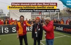 Murat Sökük Galatasaray-Trabzonspor maçında