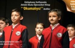 Kütüphane Haftası Tosya'da Etkinliklerle Kutlandı