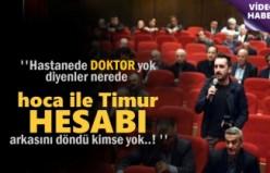 Tosya'da neden doktor yok dedi