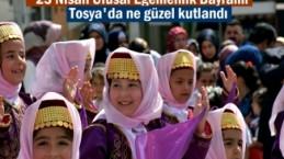 23 Nisan Ulusal Egemenlik Bayramı Kutlamaları
