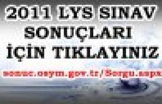 2011-LYS SONUÇLARI