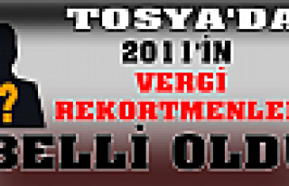 2011 YILI VERGİ REKORTMENLERİ