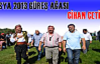 2013 Yılı Yeni Güreş Ağamız Cihan ÇETİN oldu....