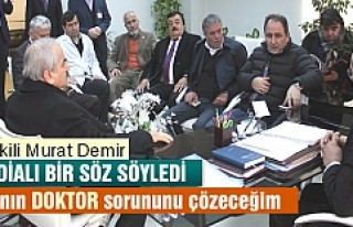 Ak Parti Kastamonu Milletvekili Murat Demir; 'Doktor...