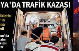 TOSYA 'DA MOTOSİKLET İLE TIRIN ALTINA GİREN 1...