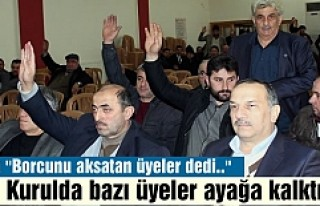 TOSYA ESNAF KEFALET KOOPERATİFİ GENEL KURUL TOPLATISI...