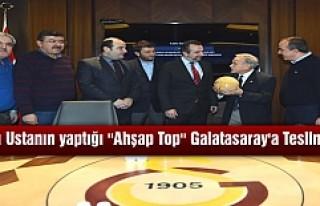 TOSYALI USTANIN YAPTIĞI ''AHŞAP TOP ''...