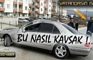 TOSYA – ÇORUM KAVŞAĞI TRAFİK KAZASI