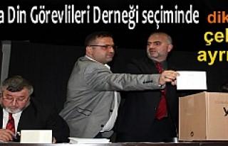 Tosya Din Görevlileri Derneği seçimlerine seçim...