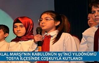 İSTİKLAL MARŞI'NIN KABULÜNÜN 95'İNCİ YILDÖNÜMÜ...