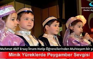 Tosya'da Kutlu Doğum Programı Düzenlendi
